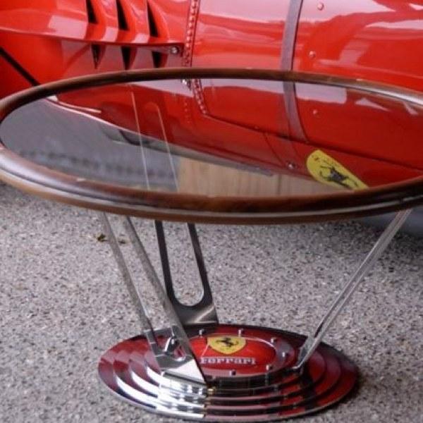 Robert Ford Design - bespoke Ferrari table